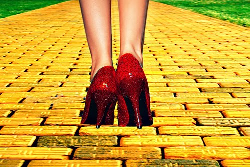 Follow your yellow brick road, brick by brick.