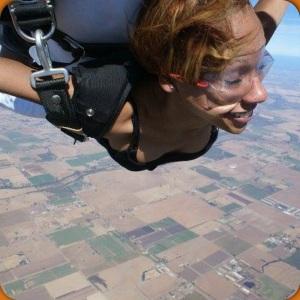 And I'm freeeeeee...free fallin'!