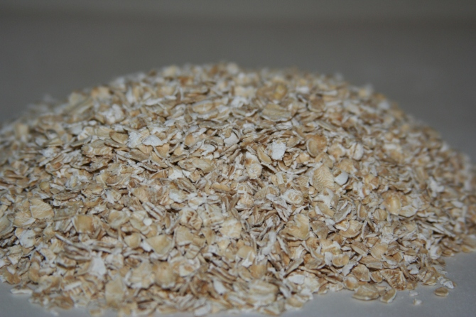My first food photograph: Rolled Oats!